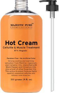 Majestic Pure Anti Cellulite Hot Cream