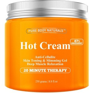 Pure Body Naturals Organic Cellulite Cream