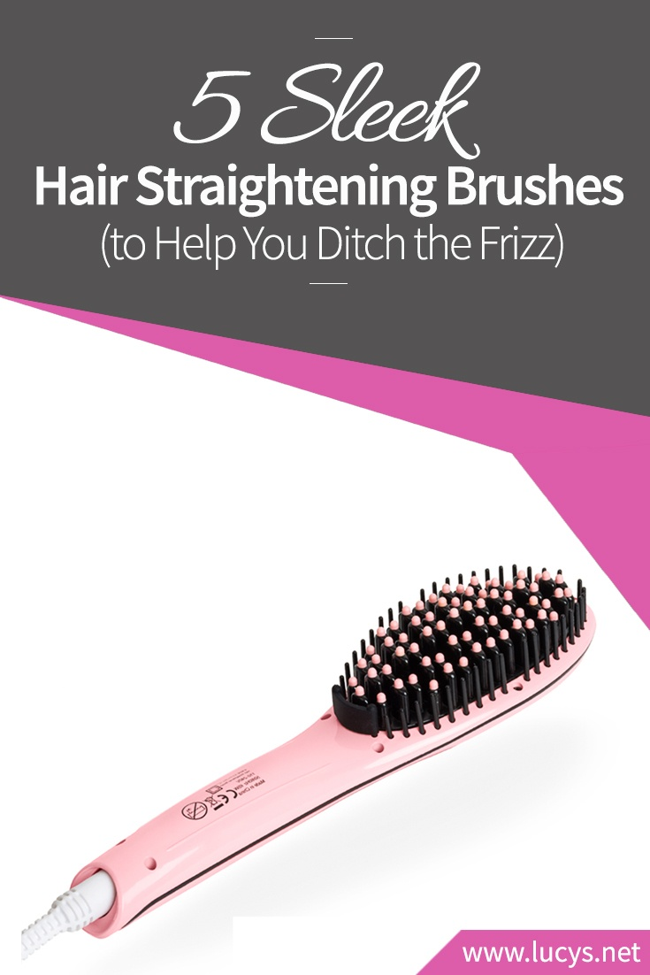 5 Sleek Hair Straightening Brushes to Help You Ditch the Frizz