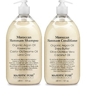 Moroccan Hammam Shampoo and Conditioner