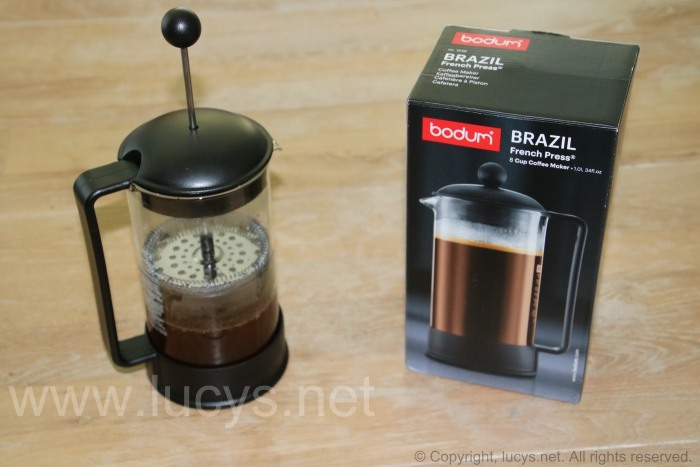 bloomfield french press coffee maker instructions