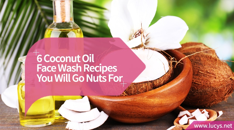 Coconut Oil Face Wash Recipes