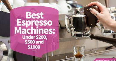 Making drip coffee with an espresso coffee machine.