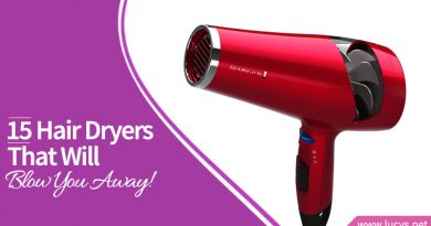 red hair blow dryer