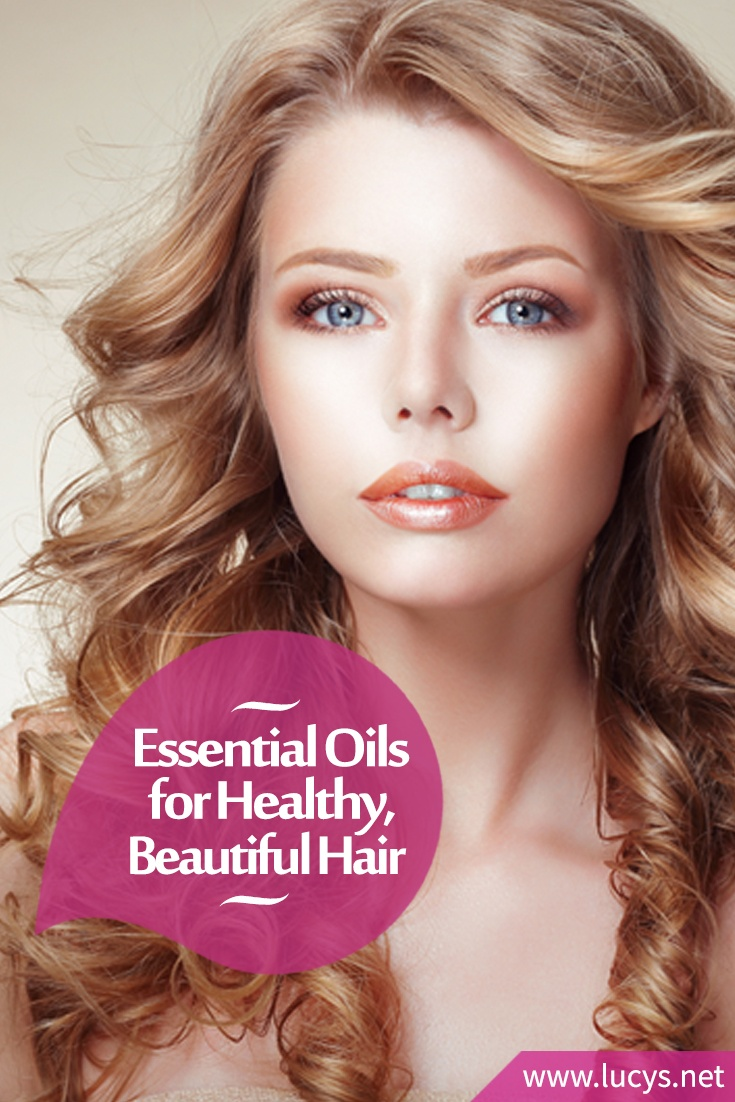 Essential Oils for Healthy Beautiful Hair (Promote Growth & Prevent Thinning)