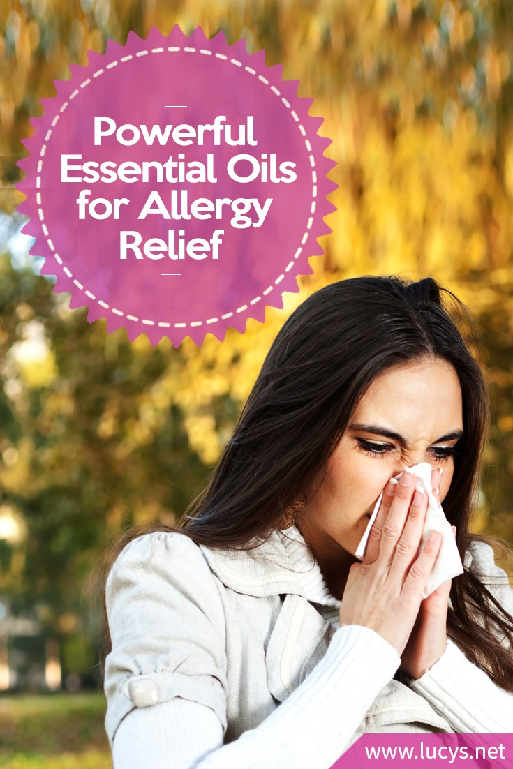 Powerful Essential Oils for Seasonal, Skin and Minor Food Allergy Relief