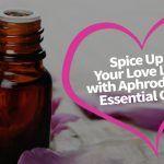 bottle of aphrodisiac essential oil