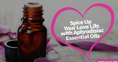 bottle of aphrodisiac essential oil