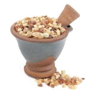 A bowel of frankincense.