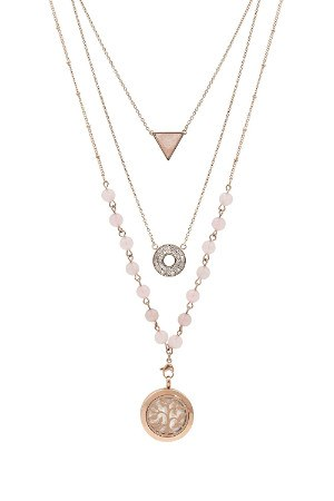 AromaLuxe London Multi-Layer Essential Oil Diffuser Necklace