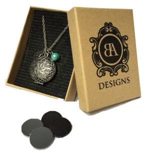 BA Designs Aromatherapy Necklace