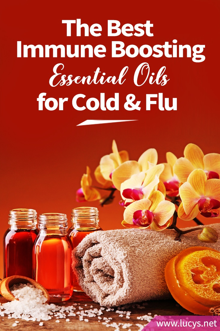 The Best Immune Boosting Essential Oils for Cold and Flu