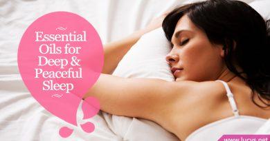 Relaxing Essential Oils for Deep & Peaceful Sleep, Snoring & Sleep Apnea