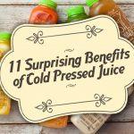 bottles of cold pressed juice