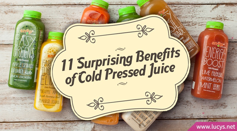 bottles of cold pressed juice