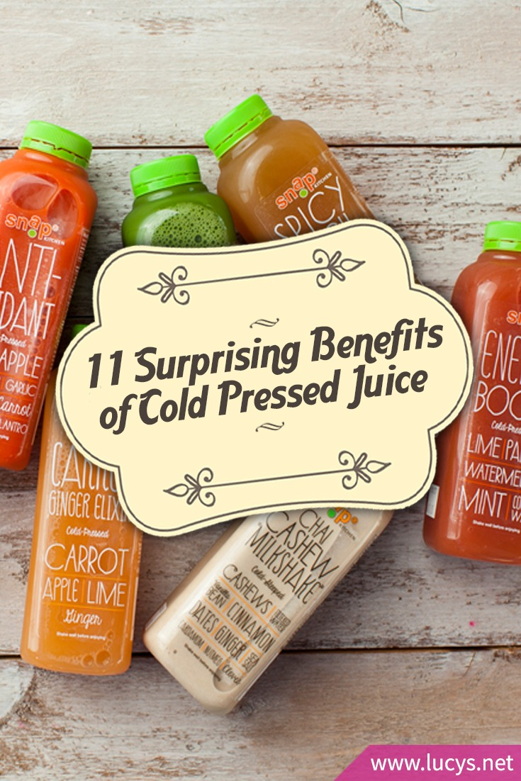 11 Suprising Benefits to Drinking Cold Pressed Juice Every Day