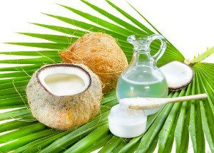 coconut, coconut water, coconut oil