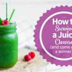 green cleansing juice