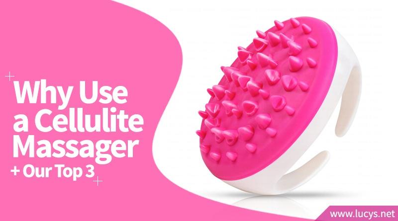 pink cellulite massager