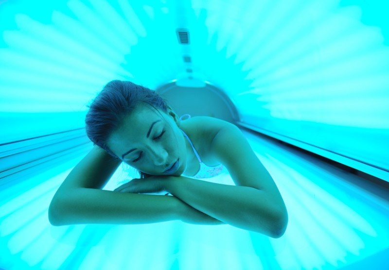 beautiful-young-woman-tanning-in-solarium